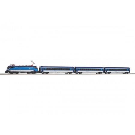 Стартовый аналоговый набор Пассажирский поезд Taurus CD Railjet PIKO 57179