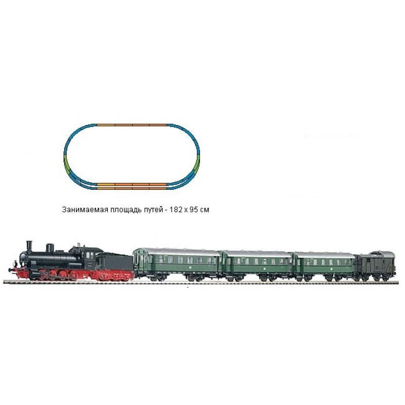 Стартовый аналоговый набор Пассажирский поезд PIKO 57121
