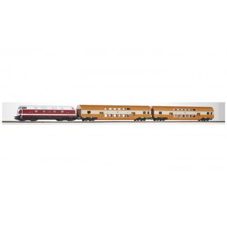 Стартовый аналоговый набор Пассажирский поезд PIKO 57135