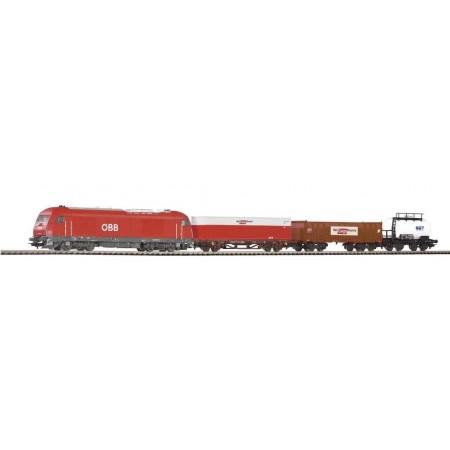 Стартовый аналоговый набор Товарный поезд PIKO 96948