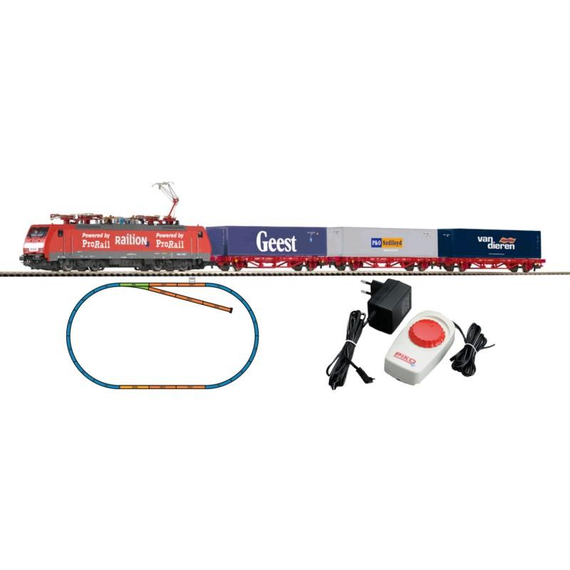 Стартовый аналоговый набор Товарный поезд PIKO 97908