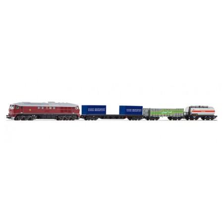 Стартовый аналоговый набор Товарный поезд СЖД PIKO 97912