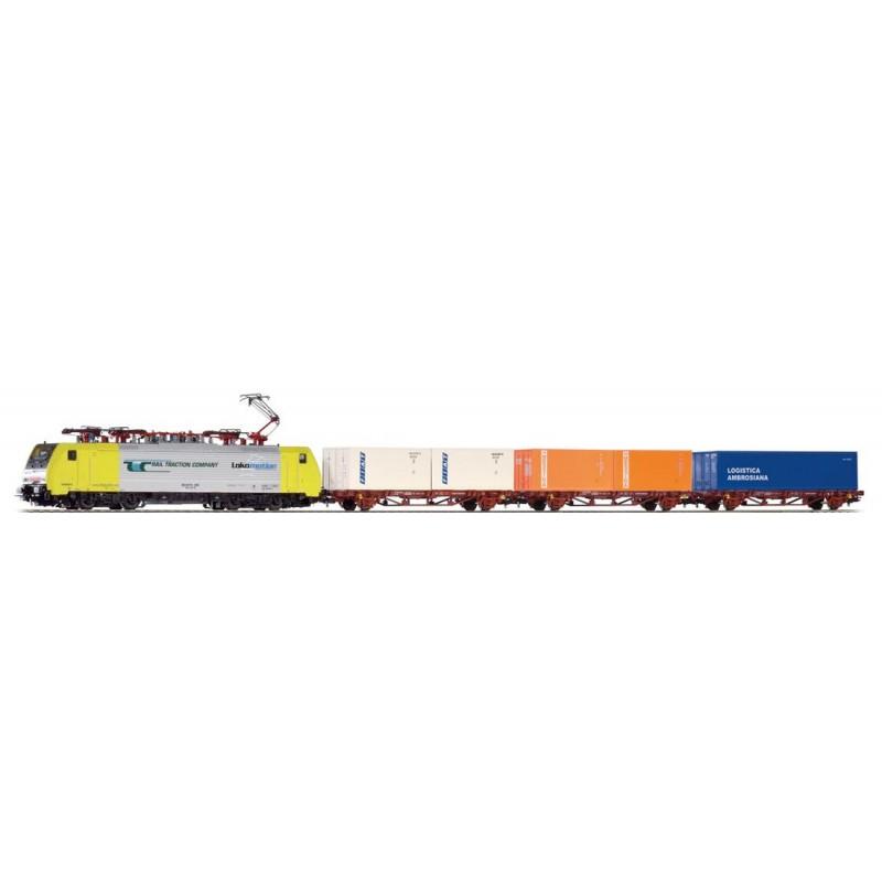 Стартовый аналоговый набор Товарный поезд PIKO 97916