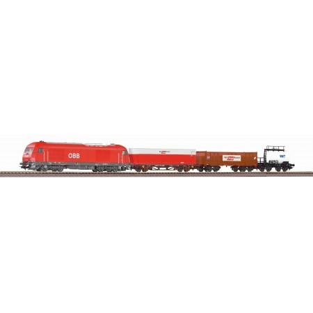 Стартовый аналоговый набор Товарный поезд PIKO 97948