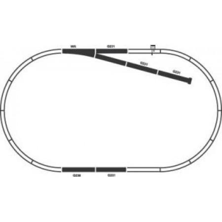 Стартовый аналоговый набор Товарный поезд СЖД PIKO 97921