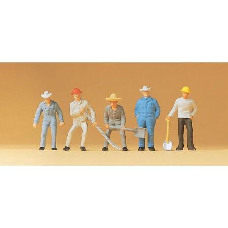Набор фигурок Путевые рабочие Preiser 14017
