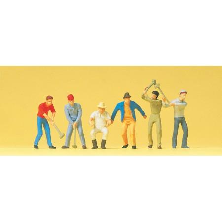Набор фигурок Рабочие Preiser 14075