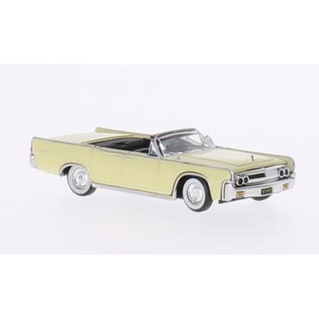 Автомодель Lincoln Continental Convertible светло-желтый 1963 Ricko 38322