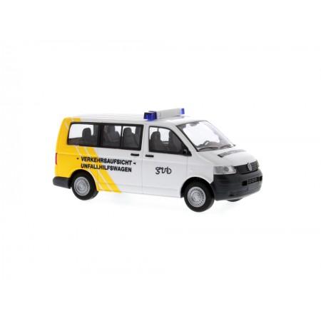 Автомодель Volkswagen T5 Verkehrsaufsicht-Unfallhilfewagen Gera Rietze 51890