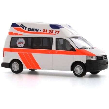 Автомодель Mobile Hornis Silver `10 Dkt Ambulance Hamburg Rietze 53604