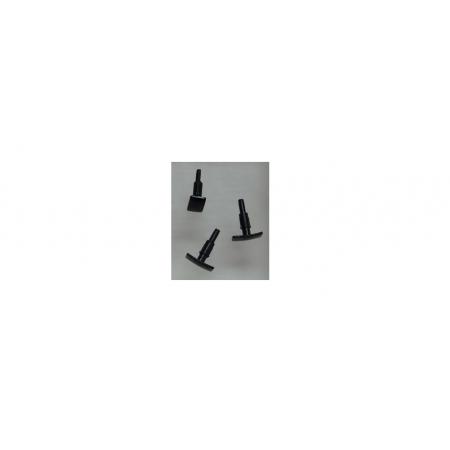 Буфер прямоугольный черный Roco 127141
