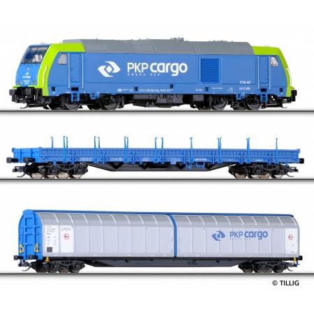 Стартовый набор Грузовой поезд Tillig 01432