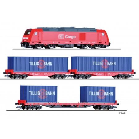 Стартовый набор Товарный поезд Tillig 01445