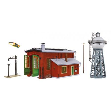 Набор депо с водонапорной башней Vollmer 43000
