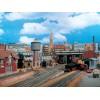 Веерное депо на 3 локомотива Vollmer 45754